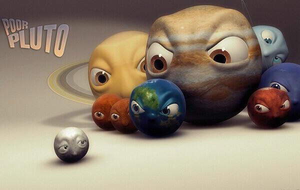 پلوتو در سال ۲۰۰۶ از لیست سیارههای رسمی منظومهی شمسی خارج شد