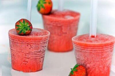بستنی رژیمی میوه ای یخی